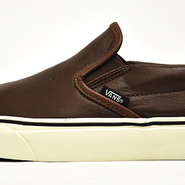 "VANS - CLASSIC SLIP-ON ""AGED LEATHER"""