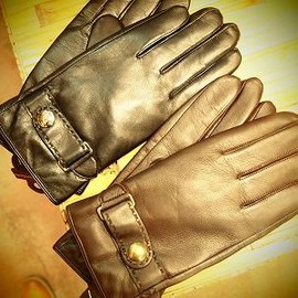 POLO RALPH LAUREN - leather glove