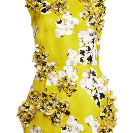 GIAMBATTISTA VALLI - Gazar St. Bouquet Long Tube Tunic