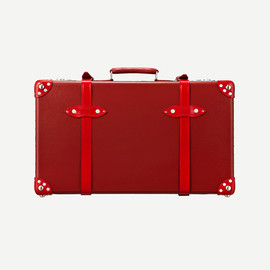 "GLOBE TROTTER - SPECIAL ALL RED / 26"" SUIT CASE"