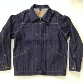 THE FABRIC - THE ROUGHR DENIM JKT