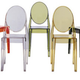 Philippe Starck, Kartell - Ghost Chair _colores