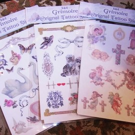 Grimoire - Original Tattoo Sticker