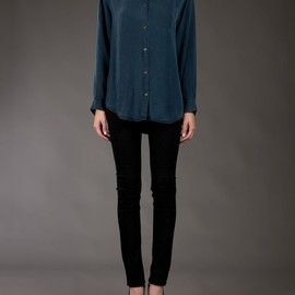 Acne - Acne Tencel Denim Shirt in Blue (denim)