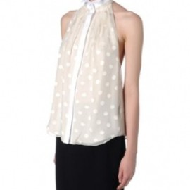Jason Wu - Sleeveless shirt Polka dots