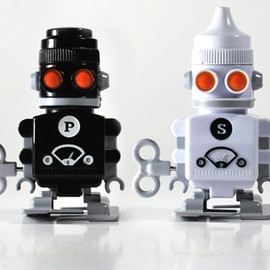 Suck UK - Robot Salt & Pepper Shakers