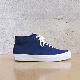 Wakouwa - Deck Shoes Hi In Navy/White