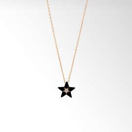 STAR JEWERY - STAR ENAMEL NECKLACE