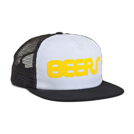 HUF - BEERS TRUCKER SNAP BACK (White)