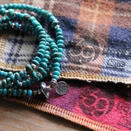 KAPTAIN SUNSHINE - Turquoise Neckless