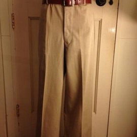 vintage - 40'S US ARMY AIR CORPS OFFICER TROUSERS