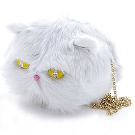 77th - 77th Jewelry White Cat チェーンバッグ