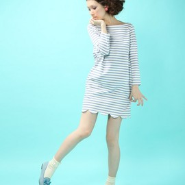 DOT&STRIPES ショートSOX