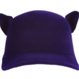 GIVENCHY - Hat aubergine 1