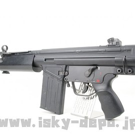 Tokyo Marui, First Factory - HK51 Carbine w/ Retractable Stock