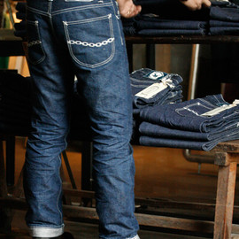 lynch silversmith - LYNCH SILVERSMITH DENIM PANTS