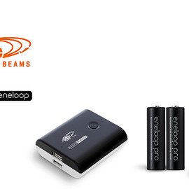 eneloop/BEAMS special edition - mobile booster/stick booster