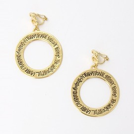 Stussy Women - Hoop Earrings