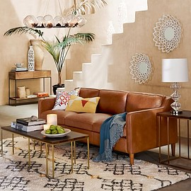 west elm - Hamilton Leather Sofa