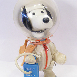 Determined Pro. - Snoopy Astronaut Doll