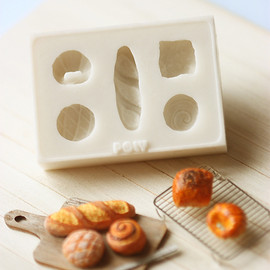 Luulla - Miniature Clay Mold Push Mold for Dollhouse Miniature French Breads