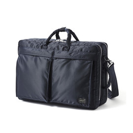"HEAD PORTER - ""TANKER-STANDARD"" 3WAY BRIEF CASE NAVY"