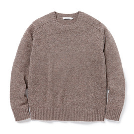 nonnative - OFFICER SWEATER SHETLAND WOOL YARN