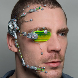Dominic Elvin - G2 flourotec cybernetic head system