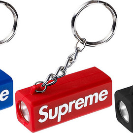 Supreme - flashlight_keychain