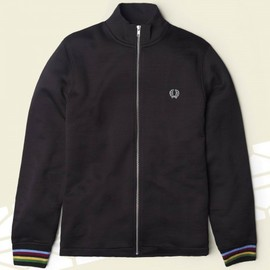 Fred Perry, Bradley Wiggins - Bradley Wiggins Collection: Champion Tipped Track Jacket