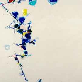 Sam Francis - Toward Disappearance III, 1958