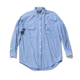 POLO - Chambray Shirt with ANDRE Autograph