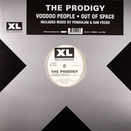 The PRODIGY - Voodoo People(Pendulum remix), Smack My Bitch Up(Sub Focus remix), Out Of Space(original mix) / XL