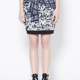 3.1 Phillip Lim - SKIRT WITH SHIRT TIE