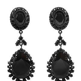 GIVENCHY - FW2015 SWAROVSKI PENDANT EARRINGS