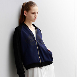 you ozeki - embroidery blouson