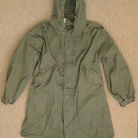 U.S. ARMY - M1951 fish tail parka (original)