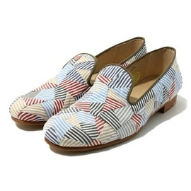 ANREALAGE - PREPPY PATCHWORK SHOES