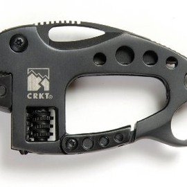 CRKT - 9075K 2-1/9-Inch Multi-Tool Lil Guppie Knife, Black