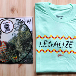 Peter Tosh - Delicious Vinyl / Peter Tosh – Legalize It Tee & 10″ Picture Vinyl