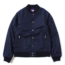 THE NORTH FACE PURPLE LABEL - Varsity Jacket