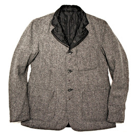 Engineered Garments - Brookline Quilted Jacket,Grey Broken Twill