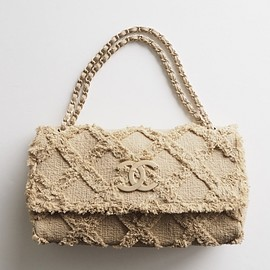 CHANEL - tweed bag