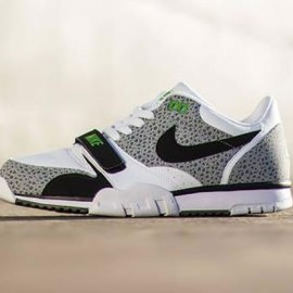 Nike - NIKE AIR TRAINER 1 LOW ST WHITE/BLACK-WOLF GREY-COOL GREY