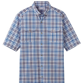 UU - UU Check short sleeve shirt B+
