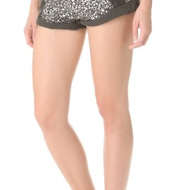 One Teaspoon - Sequined Bandit Shorts