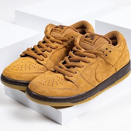 NIKE SB - Dunk Low Pro SB - Wheat/Mocha/Gum Light Brown