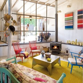 Country home of Javier Requejo in Elle Decor Espana via happymundane.com