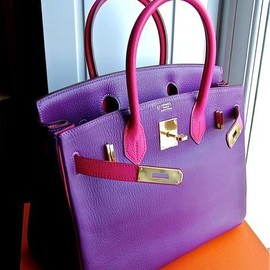 HERMES - purple/hot pink