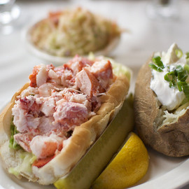 DiMillo's on the Water - Portland, ME - Lobster Roll